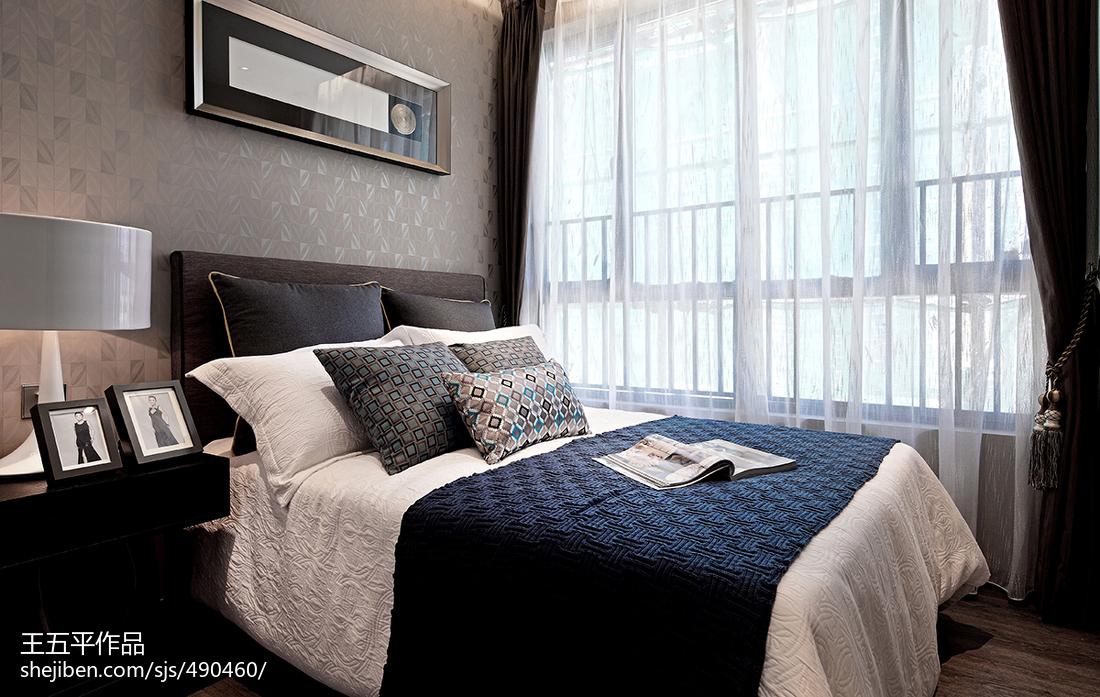 2018现代卧室装修设计效果图片欣赏