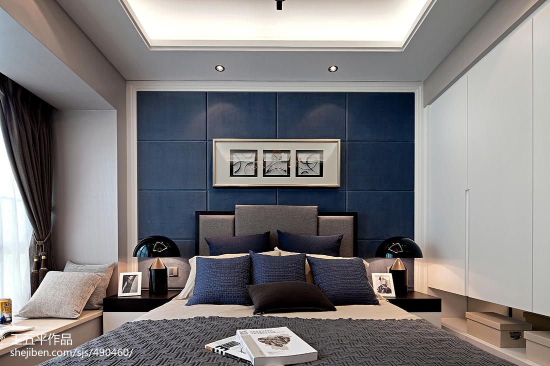 精美现代卧室效果图片大全