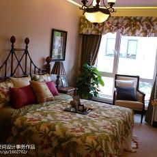 精美面积83平美式二居卧室效果图片大全