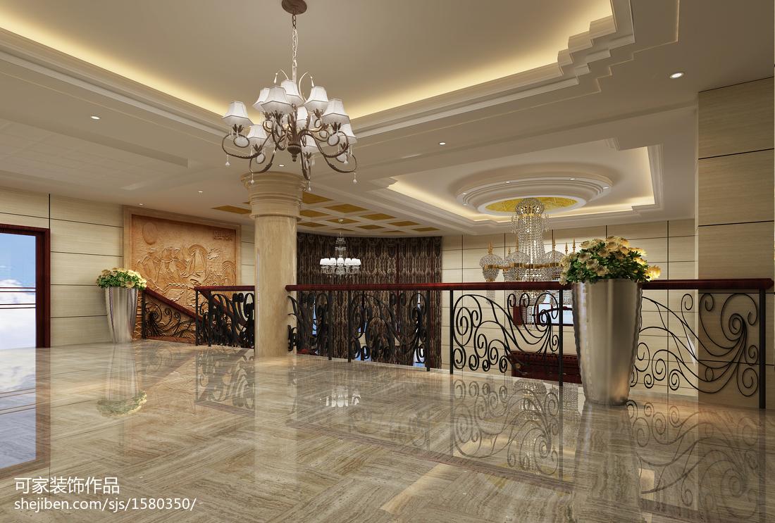 精美143平米欧式别墅休闲区效果图片