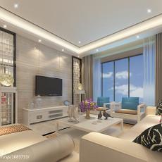精选91平方三居客厅中式装饰图