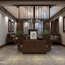 热门面积141平别墅客厅美式装修图片