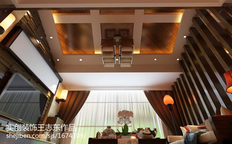 日式风格一居室室内餐厅装修图片
