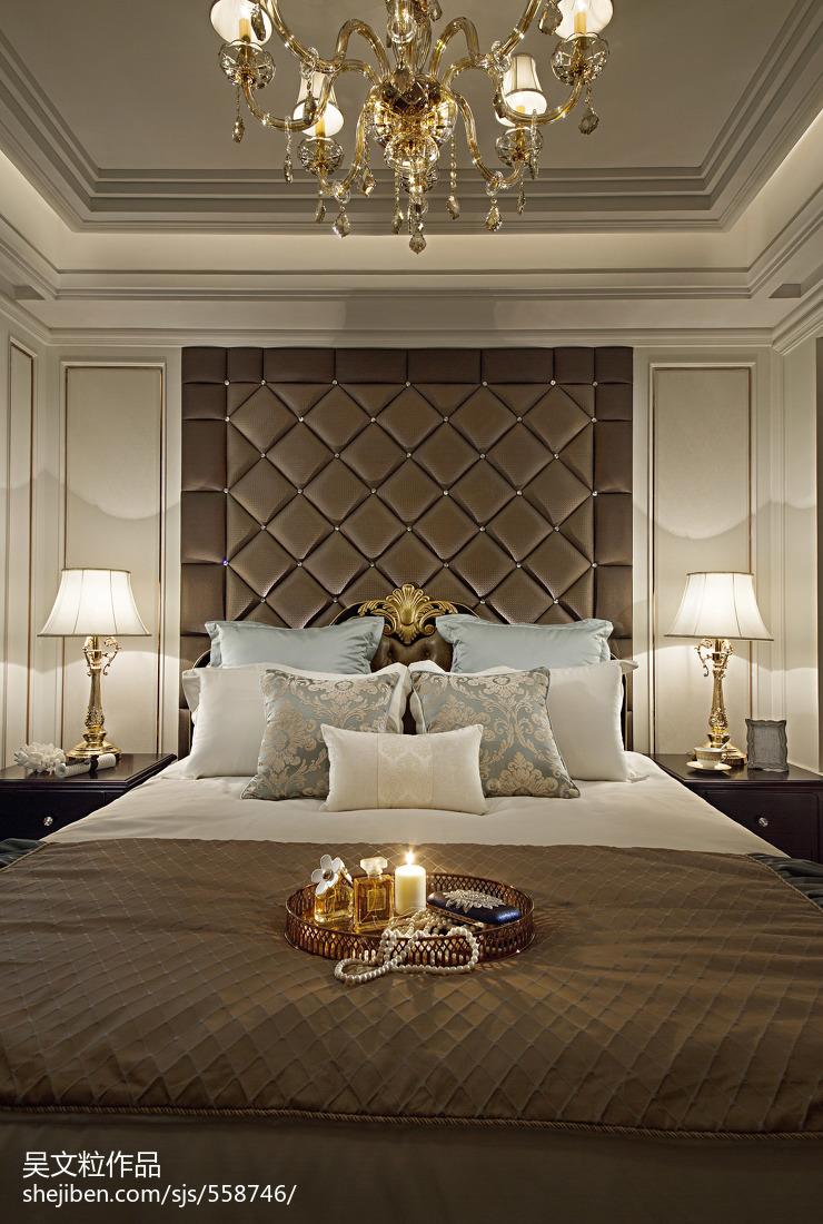 卧室欧式装修效果图片