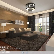 201892平方三居客厅现代装饰图片欣赏