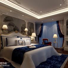 精选面积143平欧式四居卧室装修实景图片大全