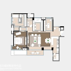 热门120平方欧式别墅客厅实景图片欣赏