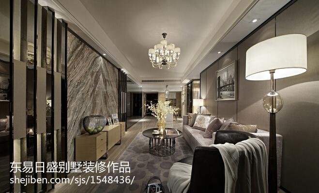 现代风格装修客厅图片