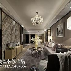 精美114平方四居客厅现代实景图片