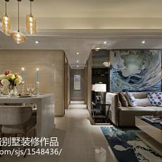 热门136平米四居客厅现代实景图片