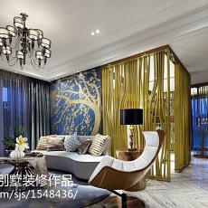 2018精选面积115平现代四居客厅装修设计效果图片欣赏