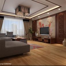 热门大小92平中式三居客厅欣赏图片