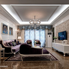 2018客厅新古典装修效果图片欣赏
