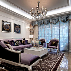 精选新古典客厅装修实景图片欣赏