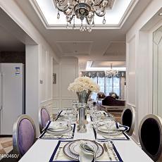 新古典风格样板房餐厅吊顶装修图