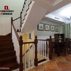 热门124平米美式复式客厅装修欣赏图