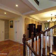 热门面积131平复式客厅美式效果图片大全