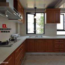 201890平方三居厨房美式装修欣赏图