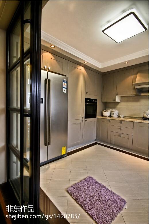 新中式风格厨房吊顶装修效果图大全