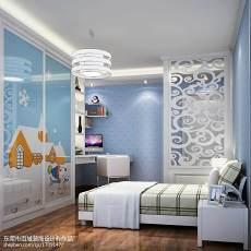 热门面积108平欧式三居卧室装饰图片欣赏