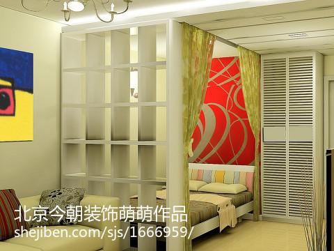 精美现代三居卧室效果图片大全