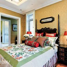 热门别墅卧室美式装修图片欣赏
