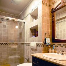 精选面积140平别墅卫生间欧式实景图片