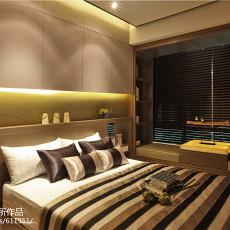 样板房设计现代简约卧室