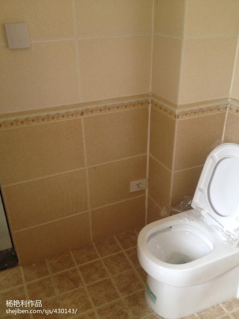 精选面积76平现代二居卫生间装修图片