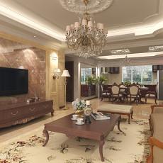 精选大小102平欧式三居客厅装修欣赏图片