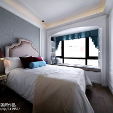 热门卧室新古典装修欣赏图