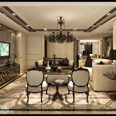 热门大小95平欧式三居客厅装饰图片大全