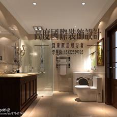 精美118平米欧式别墅卫生间装饰图片大全