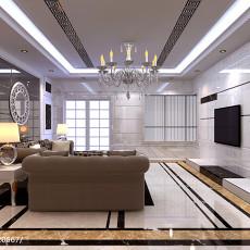 精选欧式客厅装修效果图