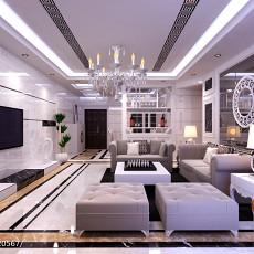 热门欧式客厅装修效果图片