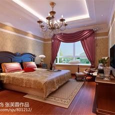 热门107平米三居卧室欧式装修效果图片欣赏