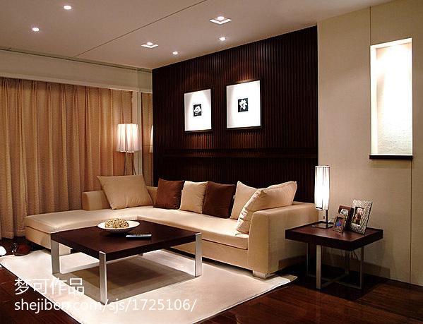 四室两厅装修效果图 客厅装修效果图欣赏
