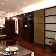 2018125平米四居客厅现代装修设计效果图片大全