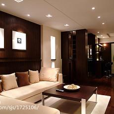 121平方四居客厅现代装修实景图