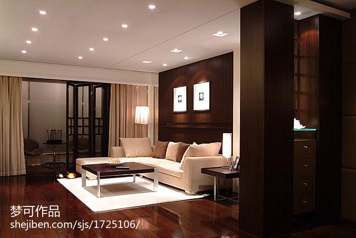 豪华大气的后现代风格别墅装修效果图客厅图片
