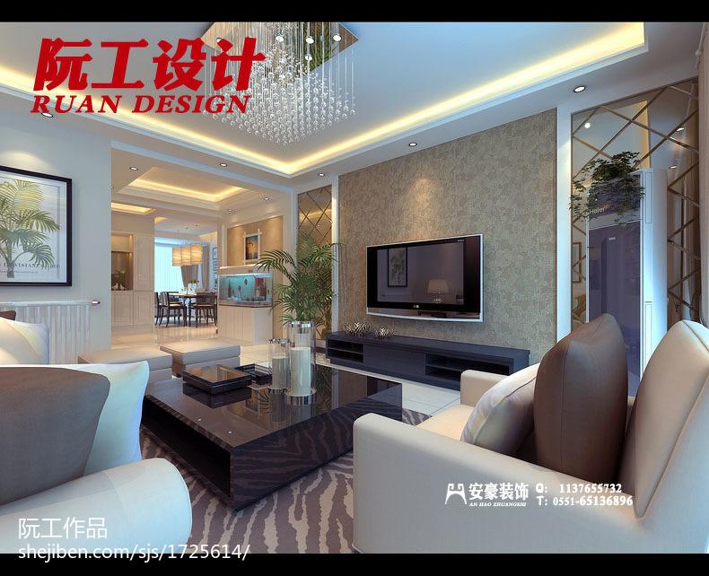 美式风格复式家装装修图片