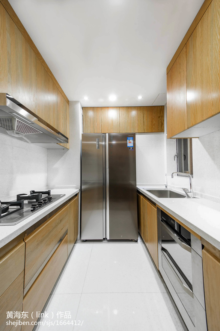 精美108平米三居厨房中式欣赏图片