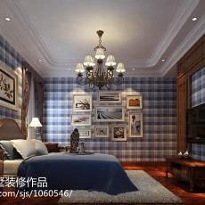 精美139平米欧式别墅卧室装修实景图片大全