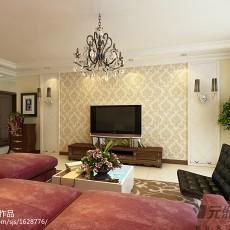 精美108平方三居客厅现代装修实景图片