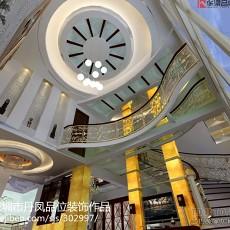 精选138平方欧式别墅客厅装修实景图片欣赏
