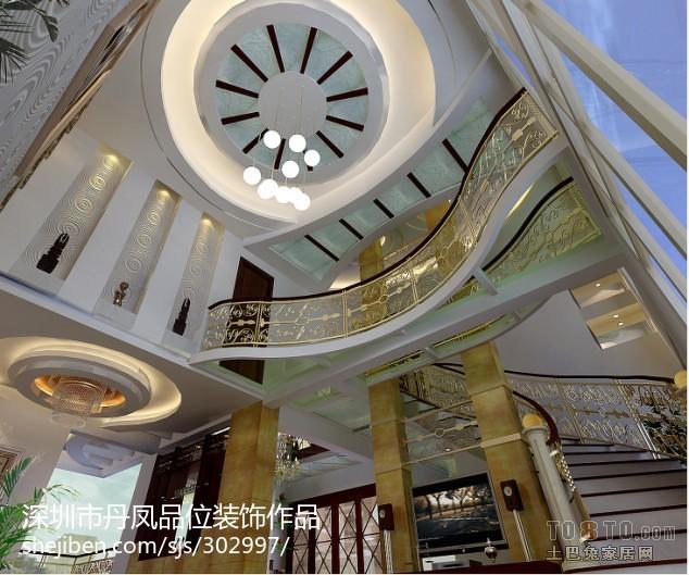 精美欧式别墅客厅装修效果图片欣赏