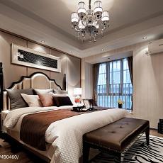 现代风格卧室窗户装修图片