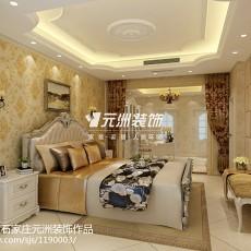 面积118平别墅卧室欧式装修图片大全