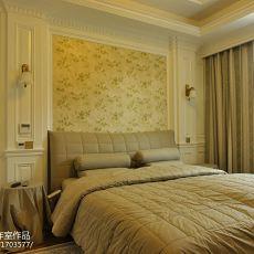 别墅设计欧式卧室背景墙装修效果图