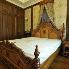 热门130平米欧式别墅卧室装修实景图片